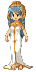 301px-Wikipe-tan in Cleopatra-style costume.png
